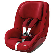 Buy Maxi-Cosi Pearl Group 1 Car Seat, Robin Red Online at johnlewis.com