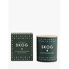 Buy SKANDINAVISK Skog Scented Candle with Lid Online at johnlewis.com