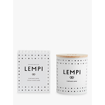 SKANDINAVISK Lempi Scented Candle with Lid
