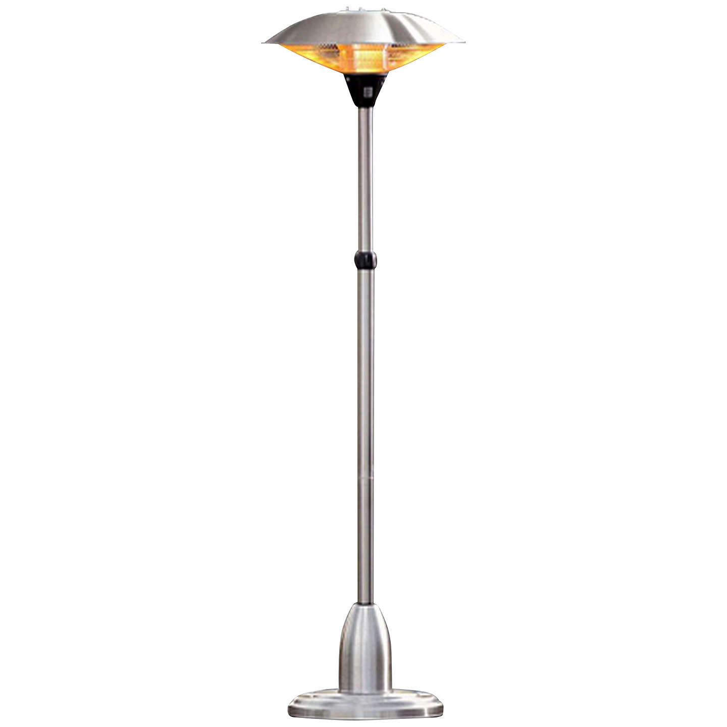 La Hacienda Free Standing Electric Patio Heater Online At Johnlewis