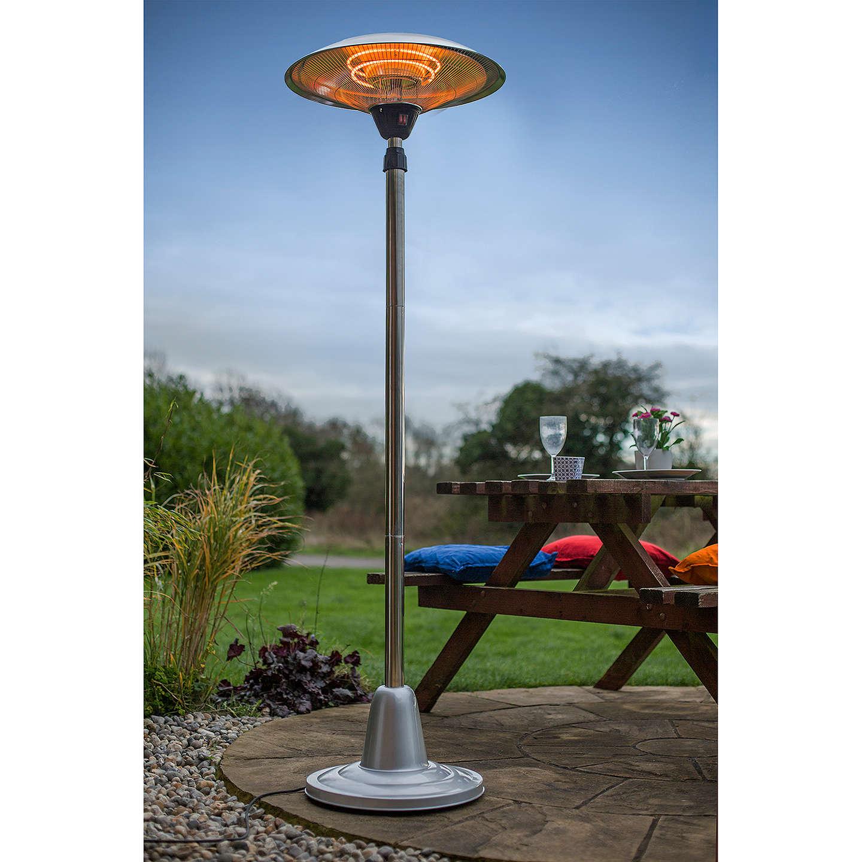 garden outdoor co patio heater oypla table outdoors uk dp w top c regulator amazon hose gas