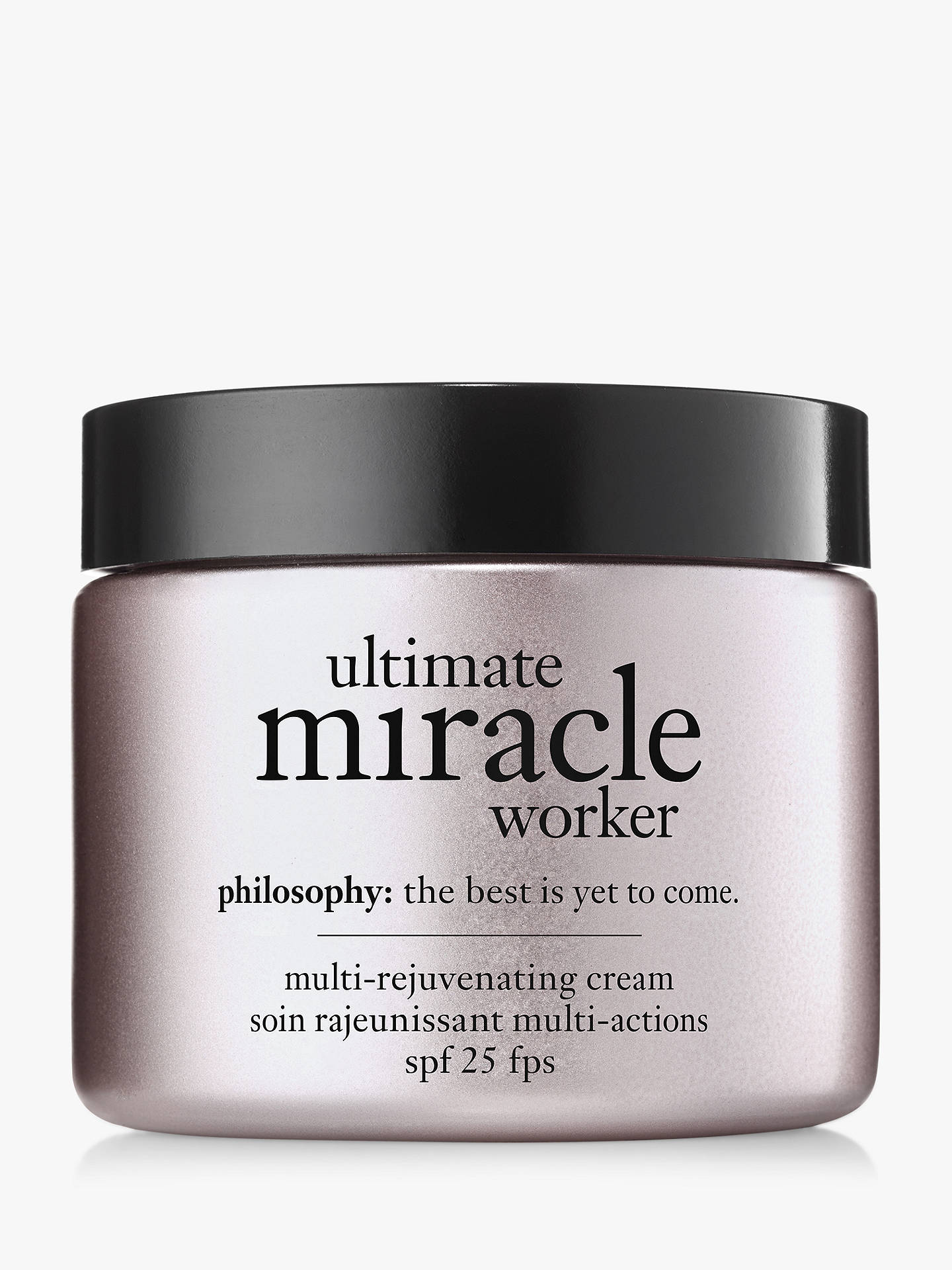Buy Philosophy Ultimate Miracle Worker Day Cream SPF 25, 60ml Online at johnlewis.com