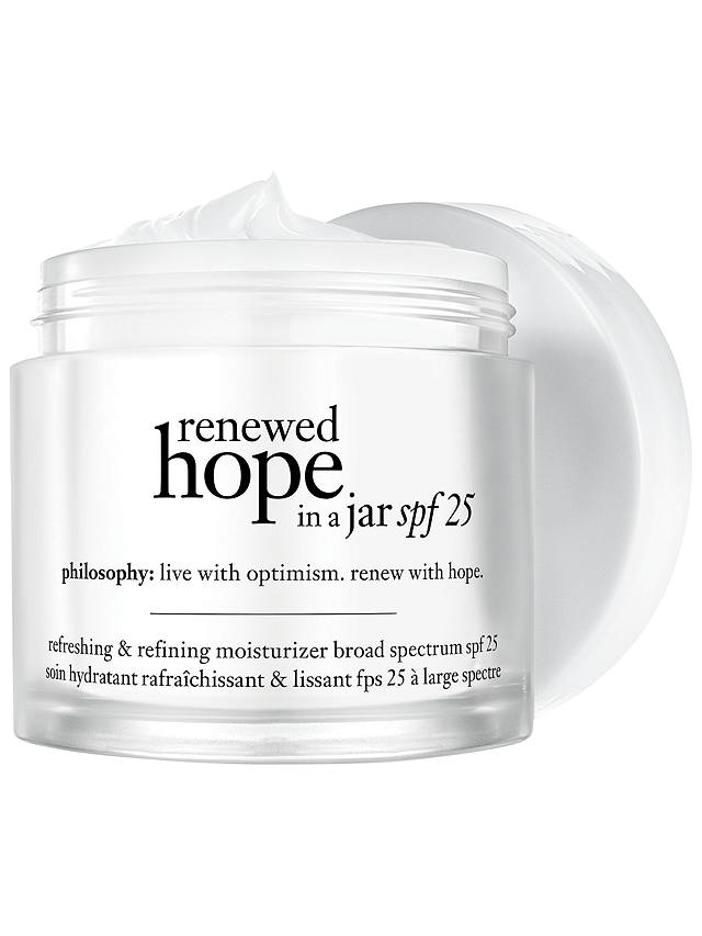 Buy Philosophy Renewed Hope In A Jar SPF 25, 60ml Online at johnlewis.com