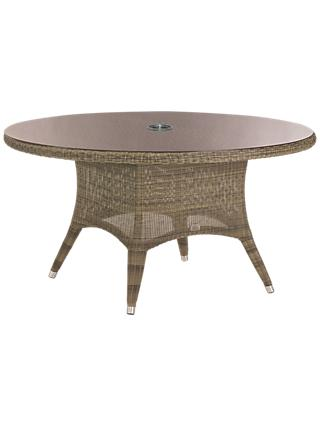 4 Seasons Outdoor Sussex Dining Table, Dia.150cm