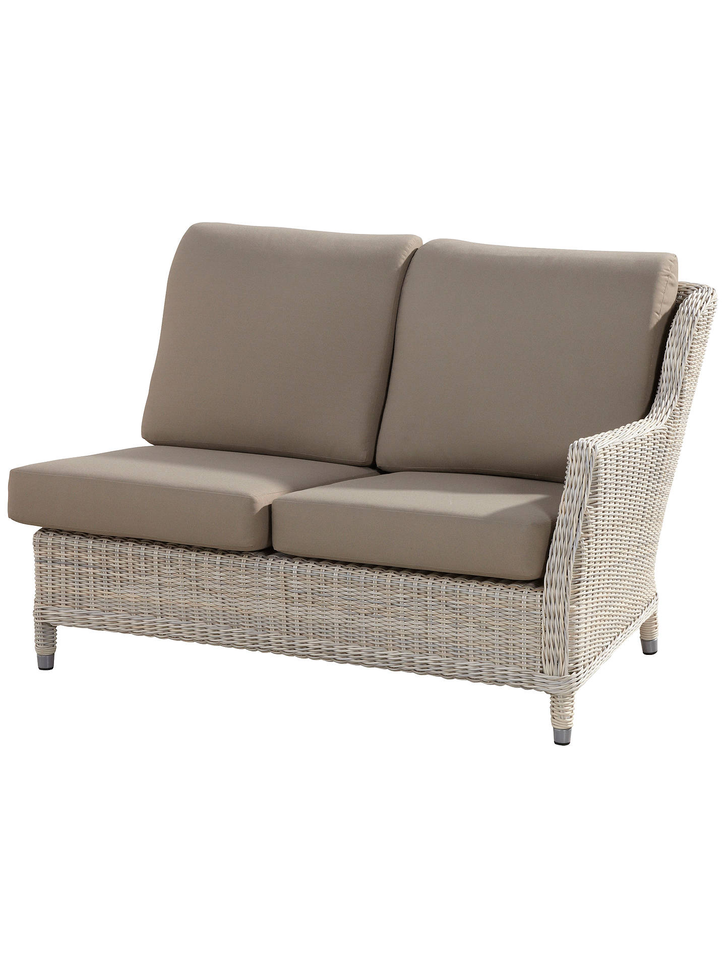 Cool 4 Seasons Outdoor Brighton Modular 2 Seater Sofa Left At Home Interior And Landscaping Ponolsignezvosmurscom