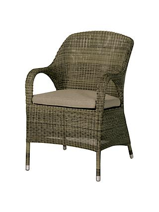 4 Seasons Outdoor Sussex Dining Chair, Brown