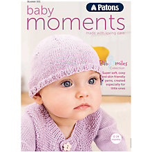 Buy Patons Baby Moments Knitting Pattern Booklet, 002 Online at johnlewis.com