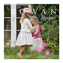 Buy Little Rowan Blossom Children's Knitting Pattern Book by Linda Whaley Online at johnlewis.com