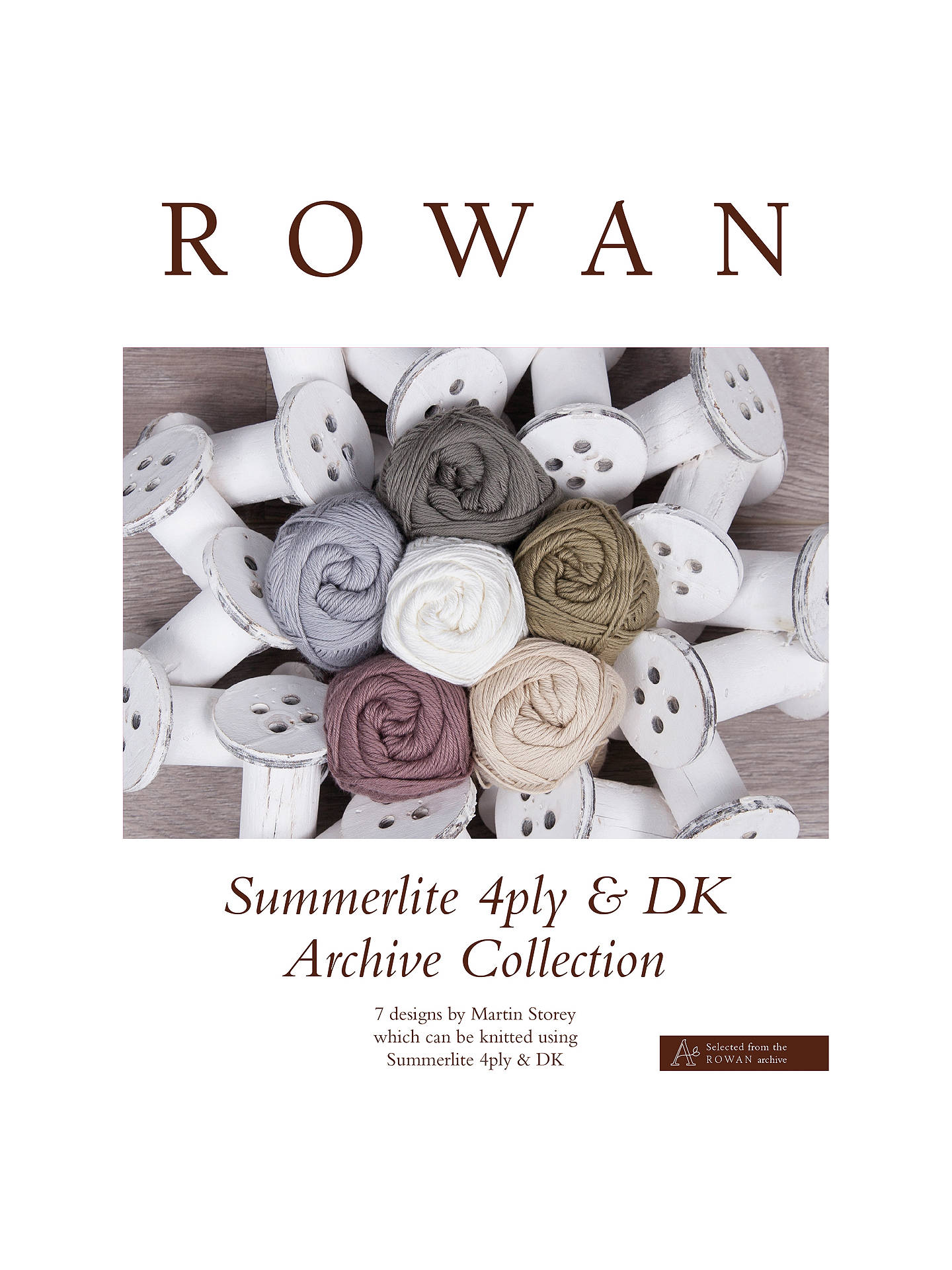 BuyRowan Summerlite 4 Ply and DK Archive Collection Pattern Brochure Online at johnlewis.com