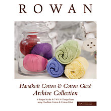 Buy Rowan Handknit Cotton Pattern Brochure Online at johnlewis.com