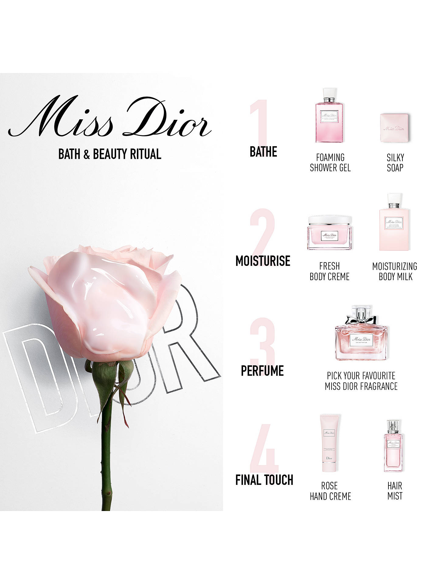 067c9f02 Dior Miss Dior Silky Body Mist, 100ml
