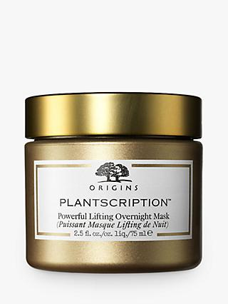 Origins Plantscription Powerful Lifting Overnight Mask, 75ml