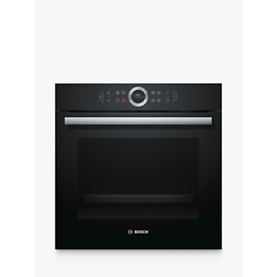 Image of Bosch HBG674BB1B 71 Litre Multifunction Electric Built-in Single Oven Black
