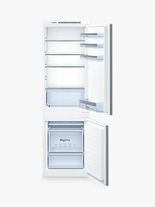 Bosch KIV86VS30G Serie 4 Integrated Fridge Freezer, A++ Energy Rating, 54cm Wide