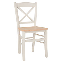 Buy John Lewis Clayton Dining Chair, Cream Online at johnlewis.com