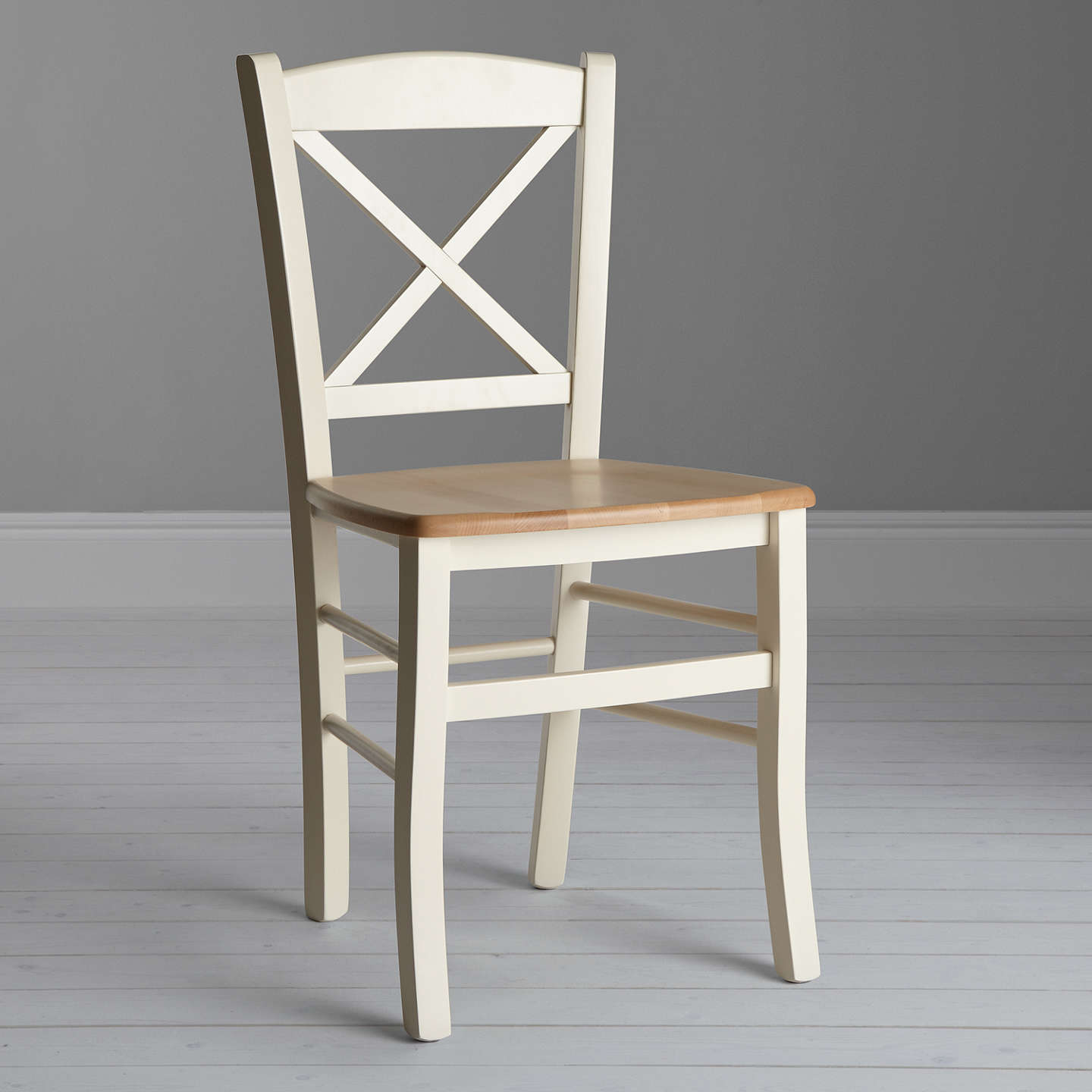 Kitchen Table And Chairs Homebase: John Lewis Clayton Dining Chair, Cream At John Lewis
