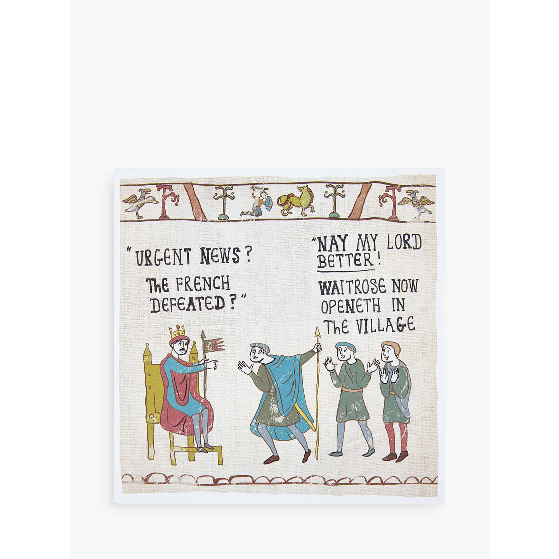 Woodmansterne Waitrose Tapestry Card At John Lewis