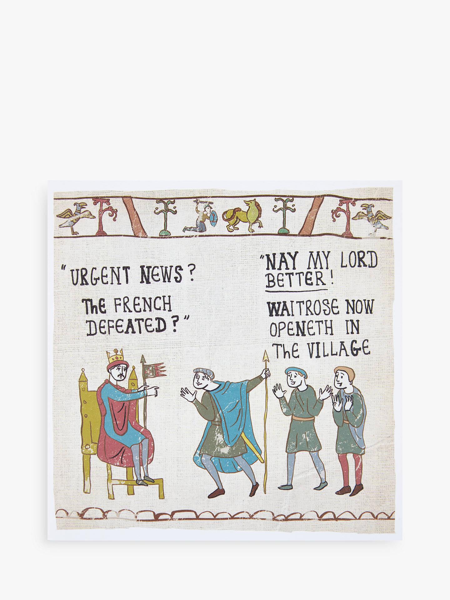 Woodmansterne Waitrose Tapestry Card At John Lewis Partners