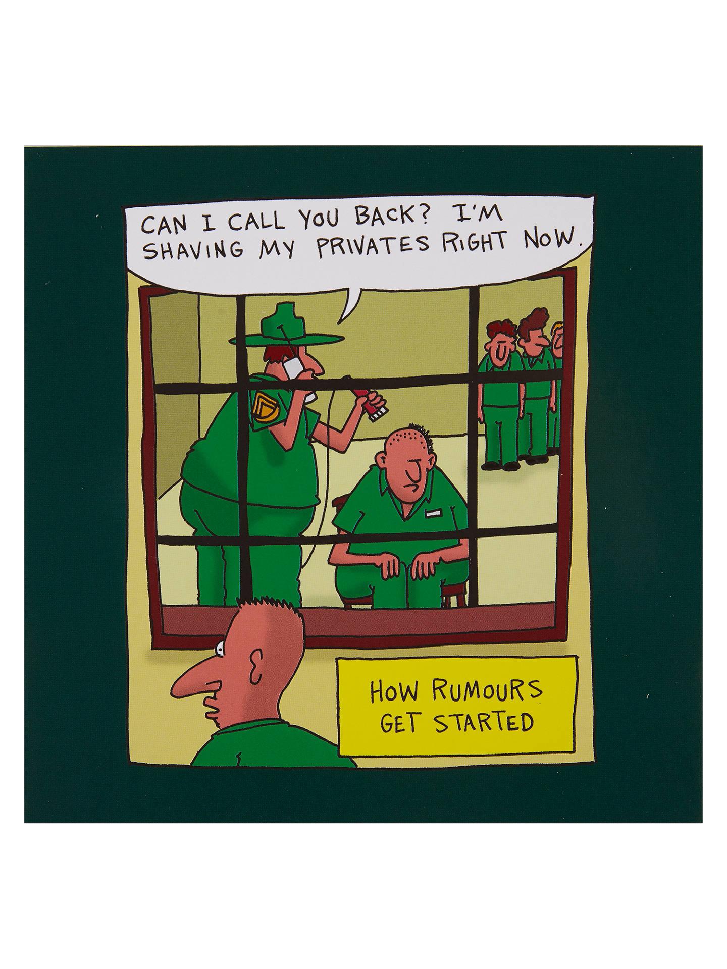 Redback Cards Privates Greeting Card At John Lewis Partners