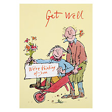 Buy Woodmansterne Gardening Couple Get Well Card Online at johnlewis.com