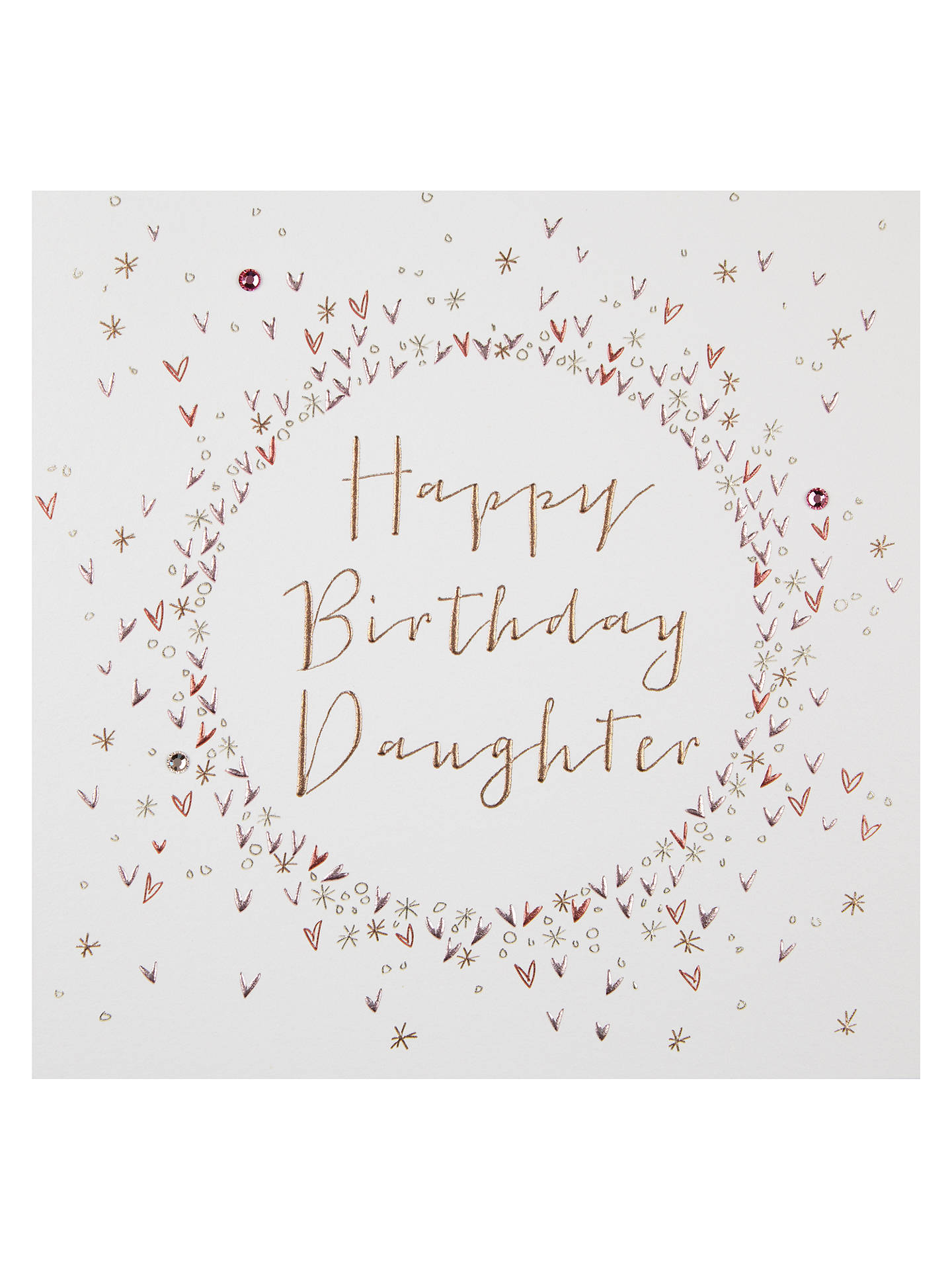 Buy Belly Button Designs Happy Birthday Daughter Card Online At Johnlewis