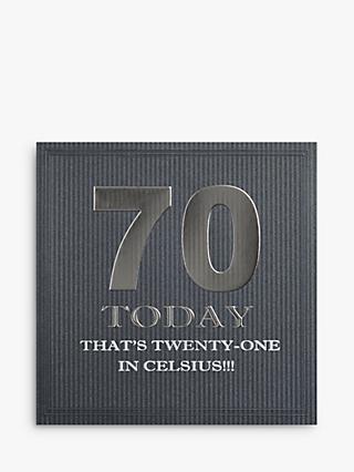 Five Dollar Shake 70 Today Birthday Card