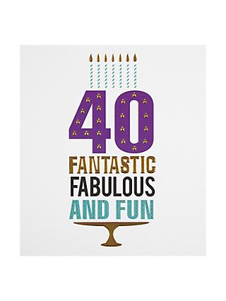 Pigment 40 Fantastic Fun & Fabulous Card