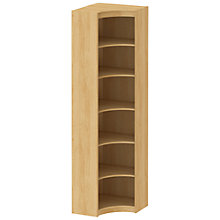 Buy John Lewis Connie Inside Corner Unit, Oak Online at johnlewis.com