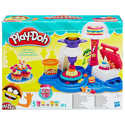 Product photo of Playdoh cake party