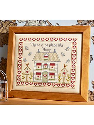 Historical Sampler Company There's No Place Like Home Cross Stitch Kit, Multi