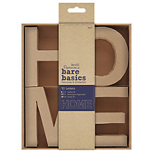 Buy Docrafts 3D HOME Letters Decoration, Pack of 4 Online at johnlewis.com