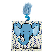 Buy Jellycat If I Were An Elephant Book Online at johnlewis.com