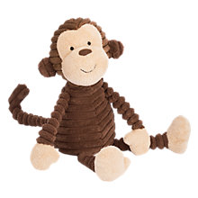 Buy Jellycat Cordy Roy Monkey Baby Soft Toy, Brown Online at johnlewis.com