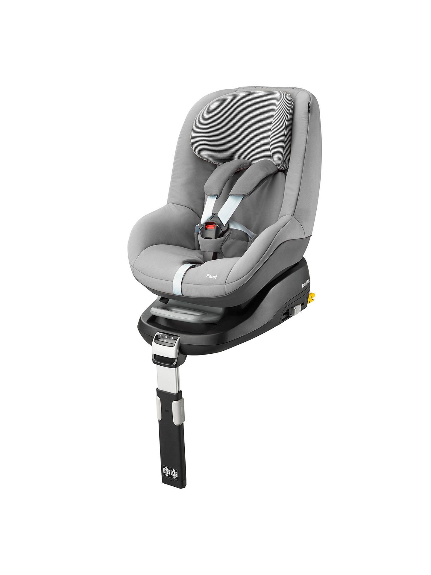 maxi cosi pearl group 1 car seat concrete grey at john. Black Bedroom Furniture Sets. Home Design Ideas