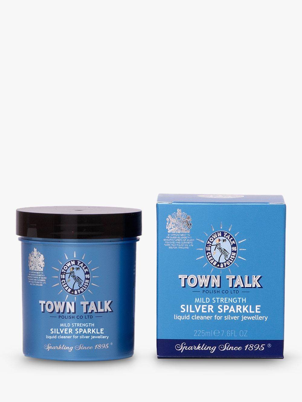 Town Talk Town Talk Silver Sparkle Cleaner, Mild Strength, 225ml