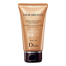 Buy Dior Dior Bronze Beautifying Protective Creme Sublime Glow, SPF50, 50ml Online at johnlewis.com