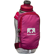 Buy Nathan SpeedShot Insulated Handheld Flask, 335ml Online at johnlewis.com