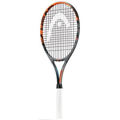 Head Radical 27 Aluminium Tennis Racket, Anthracite/Orange