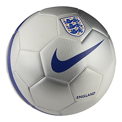 Nike Prestige England Football, Size 5, White/Blue
