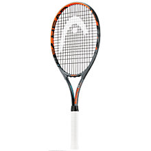 "Buy Head Radical 27"" Aluminium Tennis Racket, Anthracite/Orange Online at johnlewis.com"
