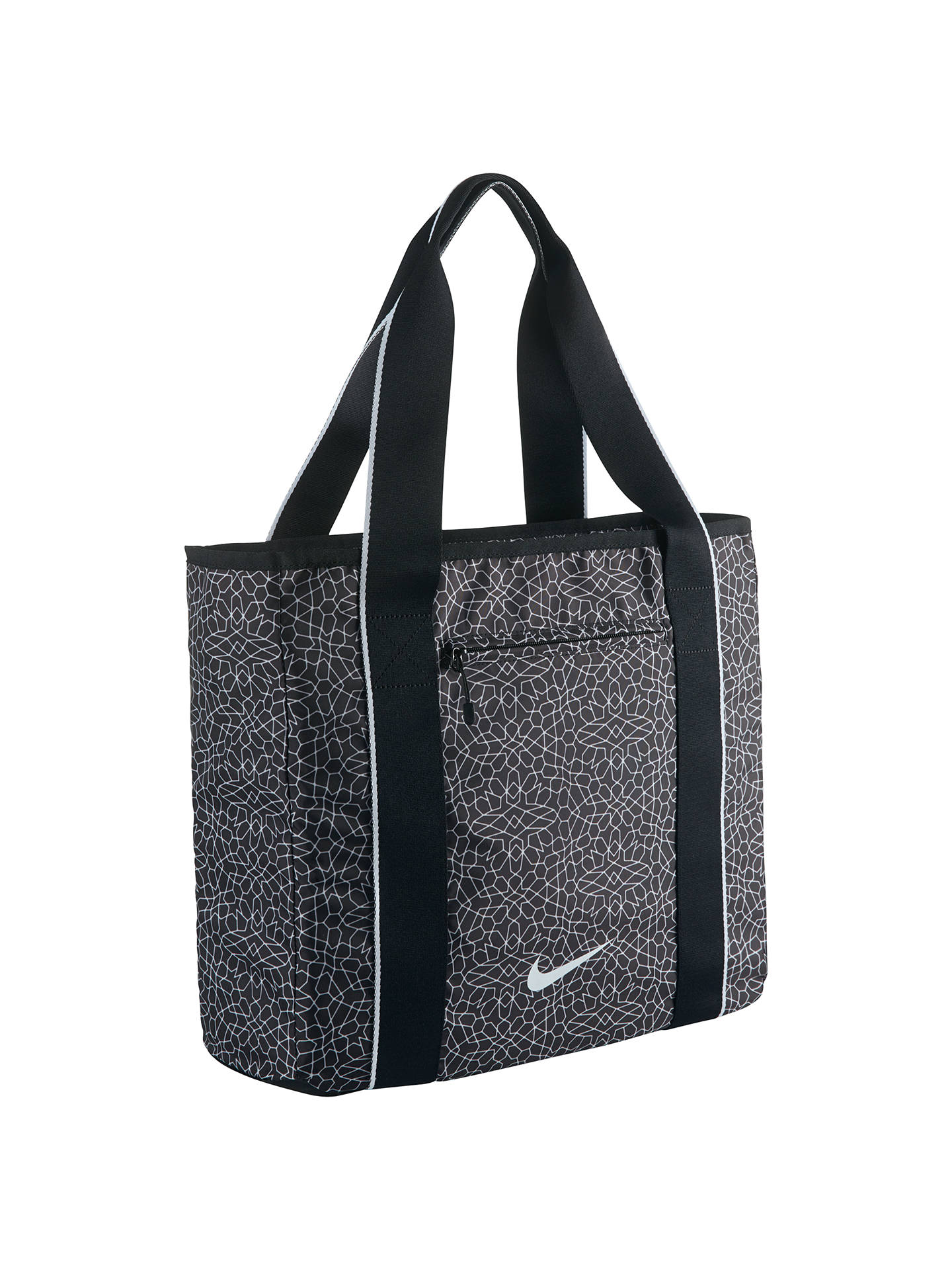 Nike Legend Track Tote Bag, Black at John Lewis & Partners