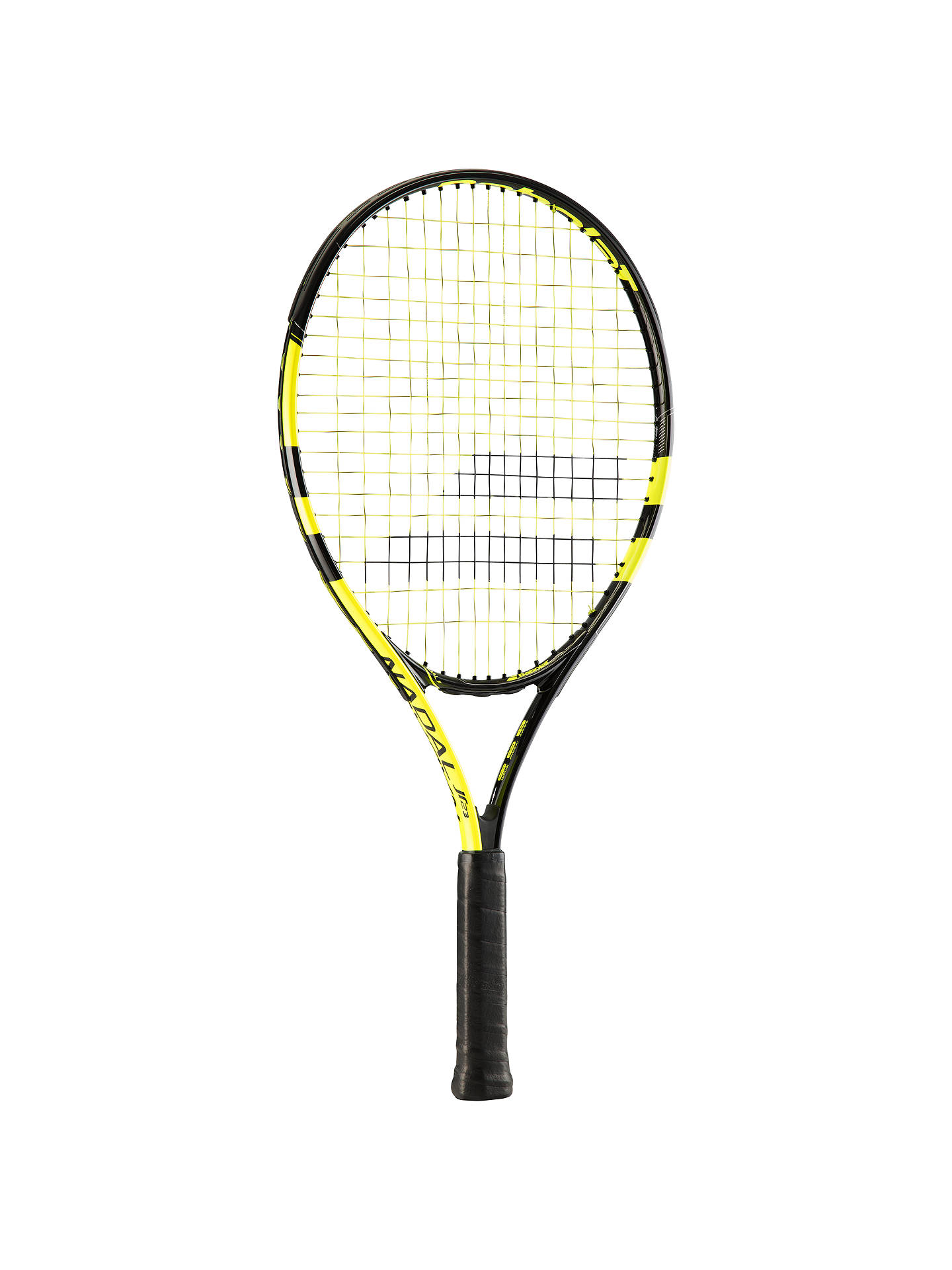 "BuyBabolat Nadal Aluminium Junior Tennis Racket, Yellow/Black, 23"" Online at johnlewis.com"