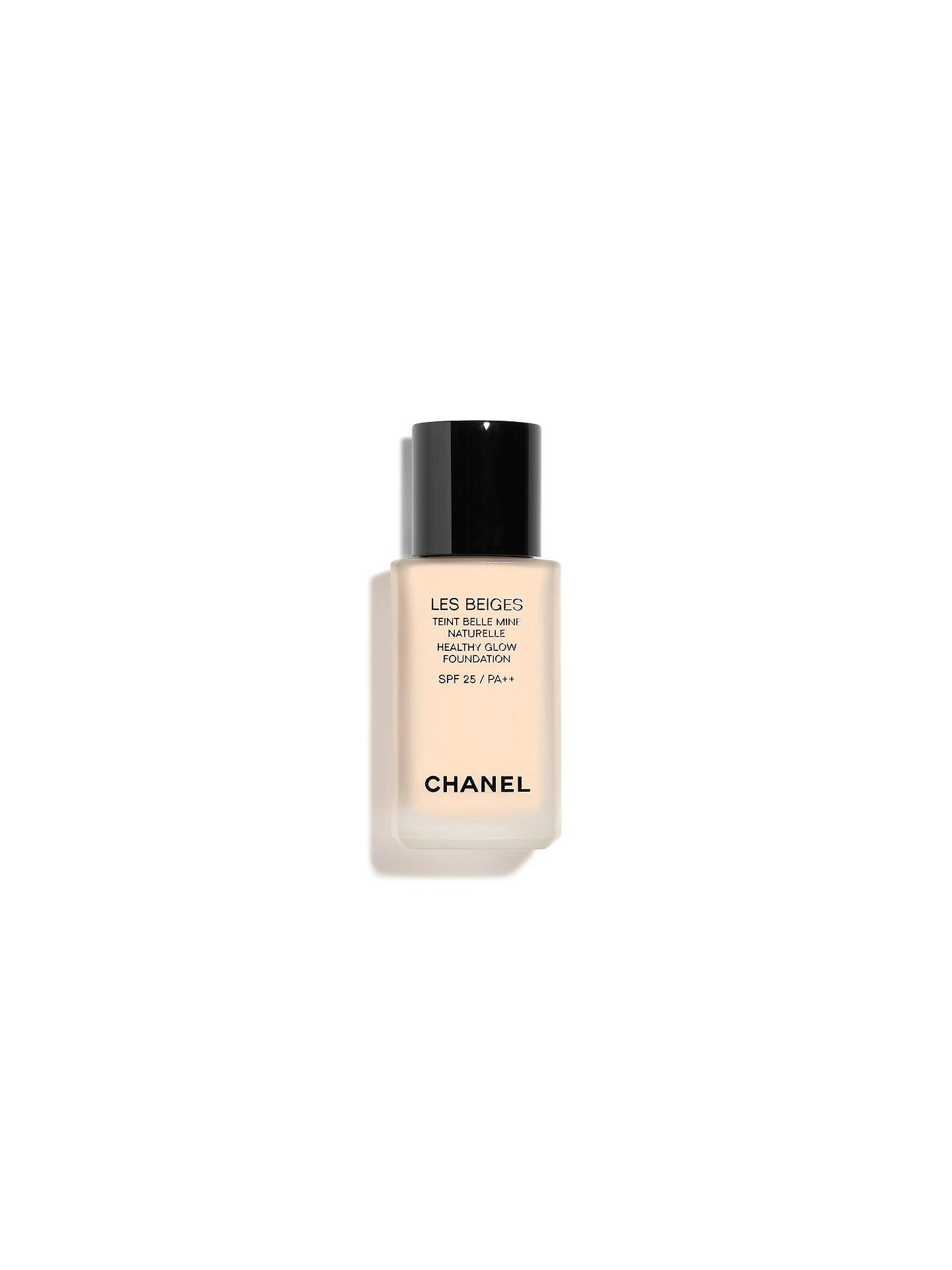 Buy CHANEL Les Beiges Healthy Glow Foundation SPF 25 / PA++, N°10 Online at johnlewis.com