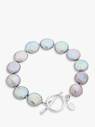 Claudia Bradby Bedruthan Freshwater Coin Pearl Bracelet