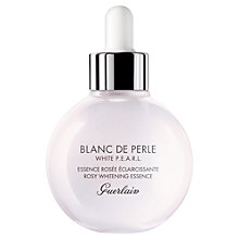 Buy Guerlain Blanc de Perle Rosy Whitening Essence, 30ml Online at johnlewis.com