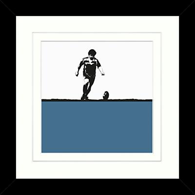 Jacky Al-Samarraie - Rugby Framed Print, 34 x 34cm