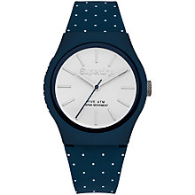 Buy Superdry Unisex Urban Micro Silicone Strap Watch Online at johnlewis.com
