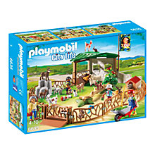 Buy Playmobil City Life Children's Petting Zoo Online at johnlewis.com