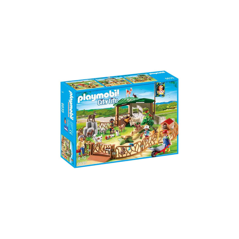 Playmobil City Life Children\'s Petting Zoo at John Lewis