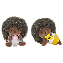Buy Sylvanian Families Hedgehog Twins Online at johnlewis.com